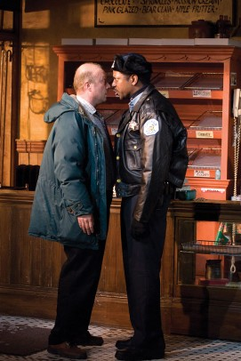 "Yasen Peyankov on Broadway in ""Superior Donuts"""