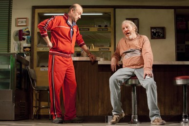 "Yasen Peyankov in the Broadway production of ""Superior Donuts"""