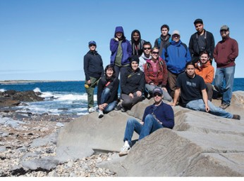 Led by Peter Doran and Steven Forman, professors of earth and environmental sciences, students took a trip to subarctic Canada.