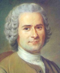 Writer-philosopher Jean-Jacques Rousseau