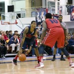 UIC Basketball Red and Blue Scrimmage