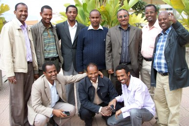 Ethiopian doctoral students