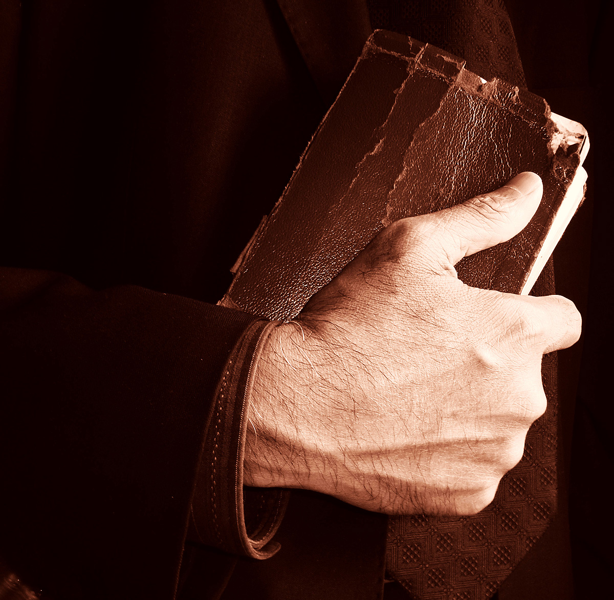 Image result for holding a worn out bible
