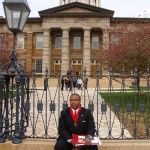 Kenneth Thomas at the Old State Capitol