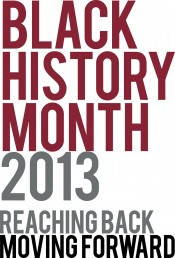 Black History Month logo 2013