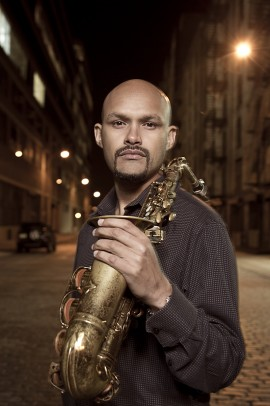 Jazz composer and saxophonist Miguel Zenon