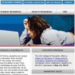 UIC webpage screen shot
