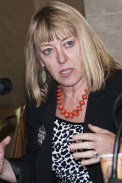 Nobel Peace laureate Jody Williams