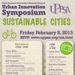 Urban Innovation Symposium poster