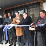 Ribbon cutting veremony for the Davis Health and Wellness Center