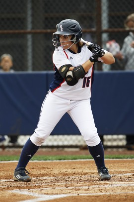 UIC Softball Player