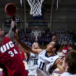 Josh Crittle takes a shot at UIC's victory over Northwestern