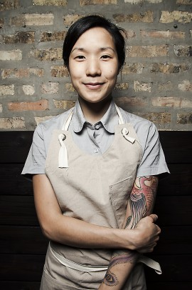 Beverly Kim, Top Chef contender