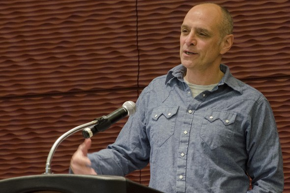 Eric Schlosser speaks