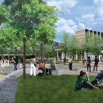 Rendering of proposed changes to the quad area