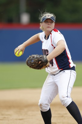 Softball first baseman Coryn Schmit