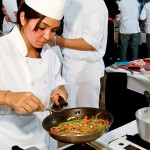 Rim Zivalich competes in 2010 'You're the Chef' cooking competition