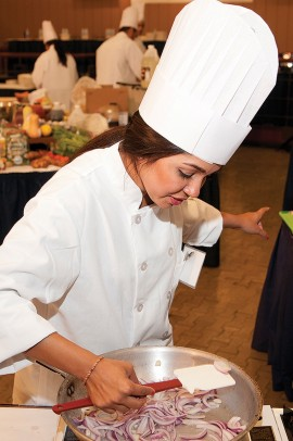 Rim Zivalich in 2011 'You're the Chef'