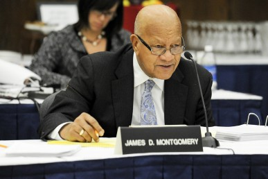 James Montgomery, university trustee