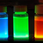 Quantum dots in containers
