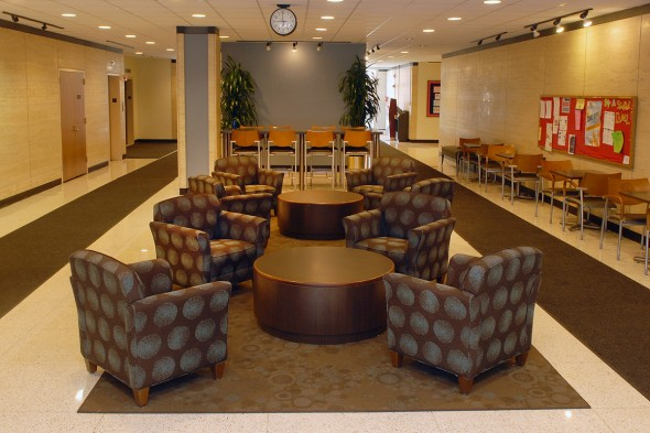 College of Nursing lobby