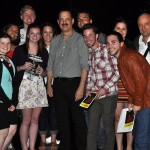 Theatre students meet Tom Hanks