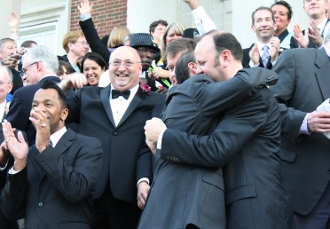 Couples celebrate civil unions in 2011
