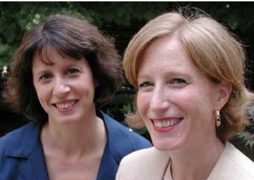 "Linda Babcock and Sara Laschever, authors of ""Women's Don't Ask: The High Cost of Avoiding Negotiation,"""