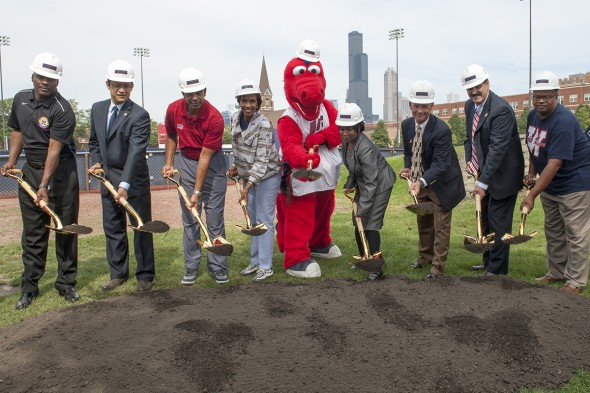 Granderson Stadium groundbreaking