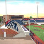 Rendering of seating at Curtis Granderson Stadium