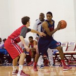 Men's basketball scrimmage game