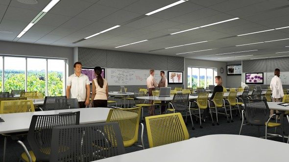 College of Medicine Rendering - Large Classroom
