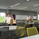 Rendering of a classroom