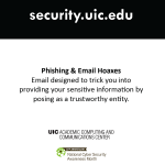 Security Month - Phishing poster