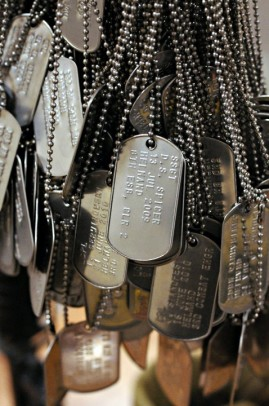 Military ID tags