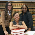 Disa DiBuono, Melissa Williams, and Antoinette Mayfield