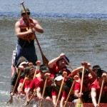 UIC's Pyro Paddlers Dragon Boat racing team