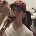 beatboxer has his vocal chords filmed