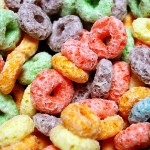 colorful children's breakfast cereal