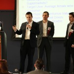 Team Savvo Digital Sommelier Solutions presenting their product