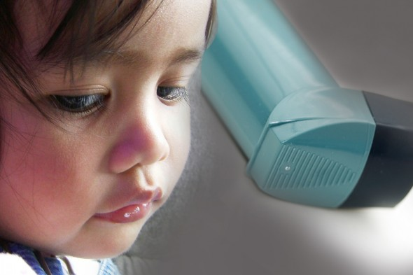 children with asthma featured