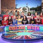 Wheel of Fortune's College Week competitors