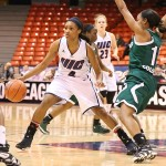 Rachel Story playing against Cleveland State
