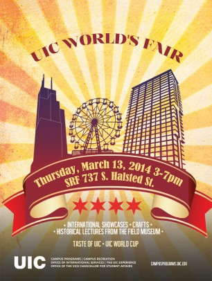 UIC World's Fair poster