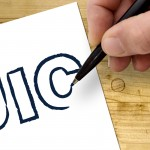 Hand drawing UIC logo