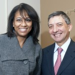 Kimberly Gossel and Dr. Enrico Benedetti