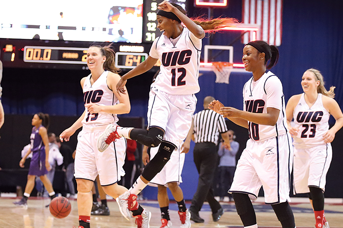 Women's basketball faces tough competition | UIC Today