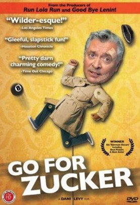 """Go For Zucker"" poster"