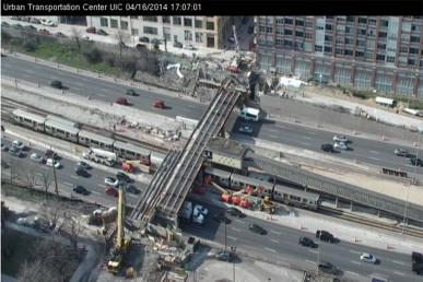 Morgan St. on UIC webcam