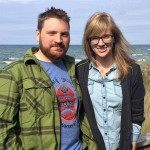 Chris Gansen and Melissa Buenger